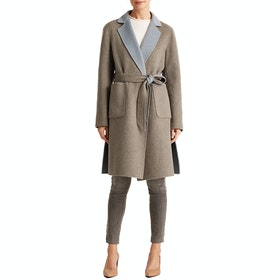 Lauren Ralph Lauren Reversible Wool Womens Bunda - Grey/blue