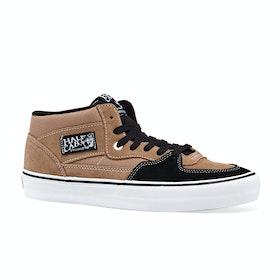 Vans Half Cab Pro Shoes - Camel Black