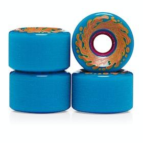 Santa Cruz 60mm Slime Balls Og Slime 78a Skateboard Wheel - Neon Blue Neon Pink