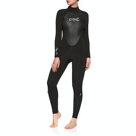 O'Neill Epic 5/4mm Back Zip Wetsuit - Black Black