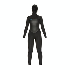 O'Neill Epic 6/5/4mm Chest Zip Hooded Womens Wetsuit - Black