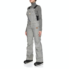 Picture Organic Seattle Bib Womens Snow Pant - Stripes