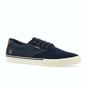Etnies Jameson Vulc Shoes - Navy/silver