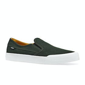 Mocassins Etnies Langston - Green/white/yellow