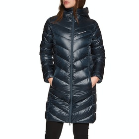 Peak Performance Frost Glacier Parka Dame Dunjakke - Blue Shadow