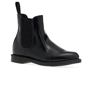 Dr Martens Flora Chelsea Womens Boots - Black