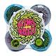 Santa Cruz Double Take Vomit Mini Neon 97 Skateboard Wheel