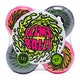 Roda de Prancha de Skate Santa Cruz Double Take Vomit Mini Neon 97