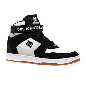 DC Pensford Shoes - Black White Gum