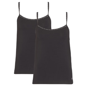 Chaleco camisola Calvin Klein Camisole 2 Pack - Black