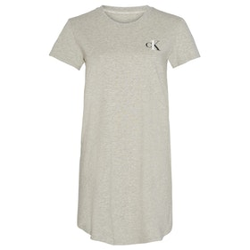 Calvin Klein One Stretch Cotton Nightshirt Damen Nachtwäsche - Grey Heather