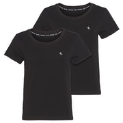 Calvin Klein Crew Neck 2 Pack Women's Short Sleeve T-Shirt