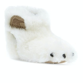 Sorel Infant Sorel Bear Paw Slippers - Sea Salt Beach