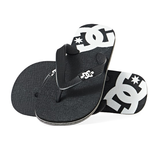 DC Spray Boys Flip Flops