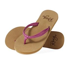 Roxy Costas II Girls Sandals - Raspberry
