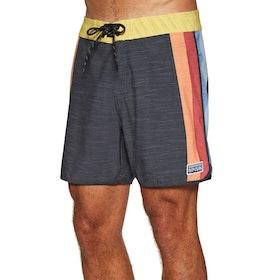 Rip Curl Retro Seventies 17'' Boardshorts - Black