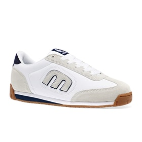 Etnies Lo Cut II LS Shoes - White Navy Gum