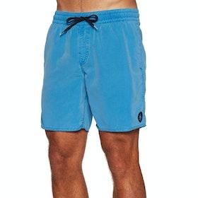 """Volcom Center Trunk 17"""" Swim Shorts - True Blue"""