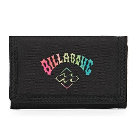Billabong Atom Wallet - Black Neon