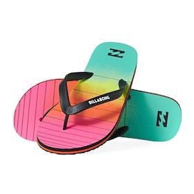Sandales Billabong Tides 73 Stripe - Neon