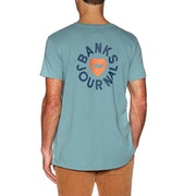Banks Heart Rings Short Sleeve T-Shirt