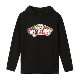 Vans OTW Fleece Boys Pullover Hoody - Black Gradient Checkerboard