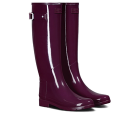 Hunter Original Refined Gloss Womens Wellies - Martian Red
