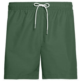 Calvin Klein Basic Drawstring Swim Shorts - Dark Green