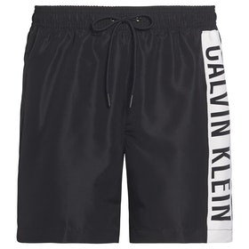 Calvin Klein Medium Drawstring Swim Shorts - Pvh Black