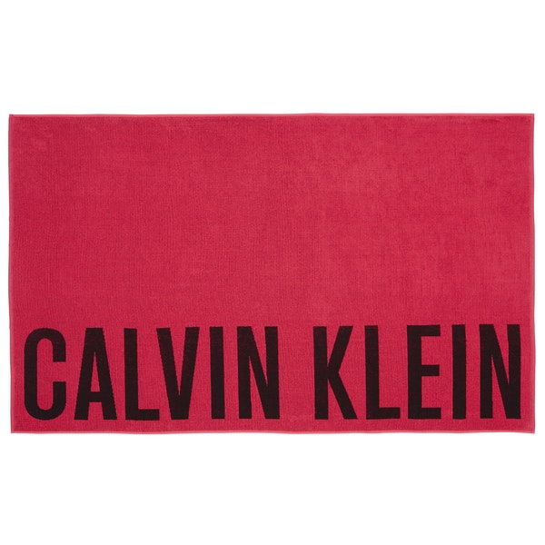 Calvin Klein Block Logo Towel Damen Beach Towel