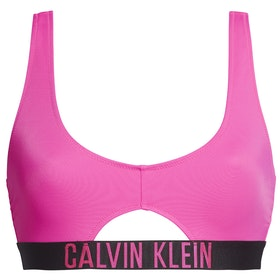 Pieza superior de bikini Mujer Calvin Klein Cut Out Bralette - Pink Glo