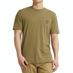 Burton Colfax , Kortärmad T-shirt - Martini Olive