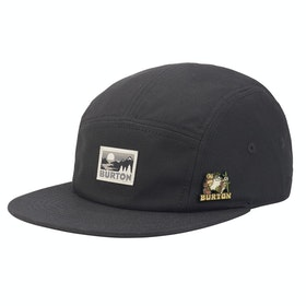 Burton Cordova 5 Panel Cap - True Black