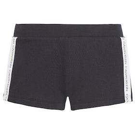 Calvin Klein Side Logo Women's Beach Shorts - Pvh Black