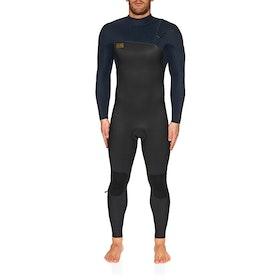 O'Neill 5/4mm Hyperfreak Comp Zipperless Wetsuit - Black Abyss