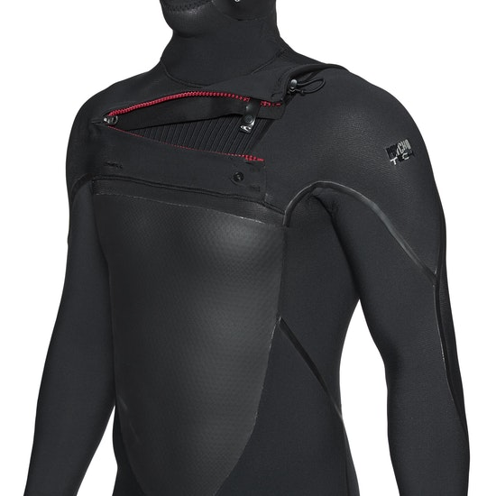 O'Neill Psycho Tech 6/4mm Chest Zip Hooded Wetsuit