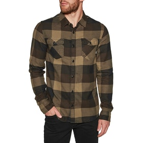 Vans Box Flannel Shirt - Black Dirt