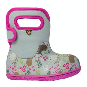 Bogs Baby Bogs Woodl Baby Wellingtons - Light Gray Multi