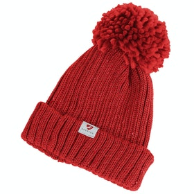 Shires Aubrion Wilson Bobble Hat - Red