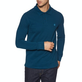 Timberland Ls Millers Polo Shirt - Gibralter Sea
