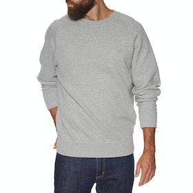 Timberland Exeter River Basic Crew Sweater - Grey Heather