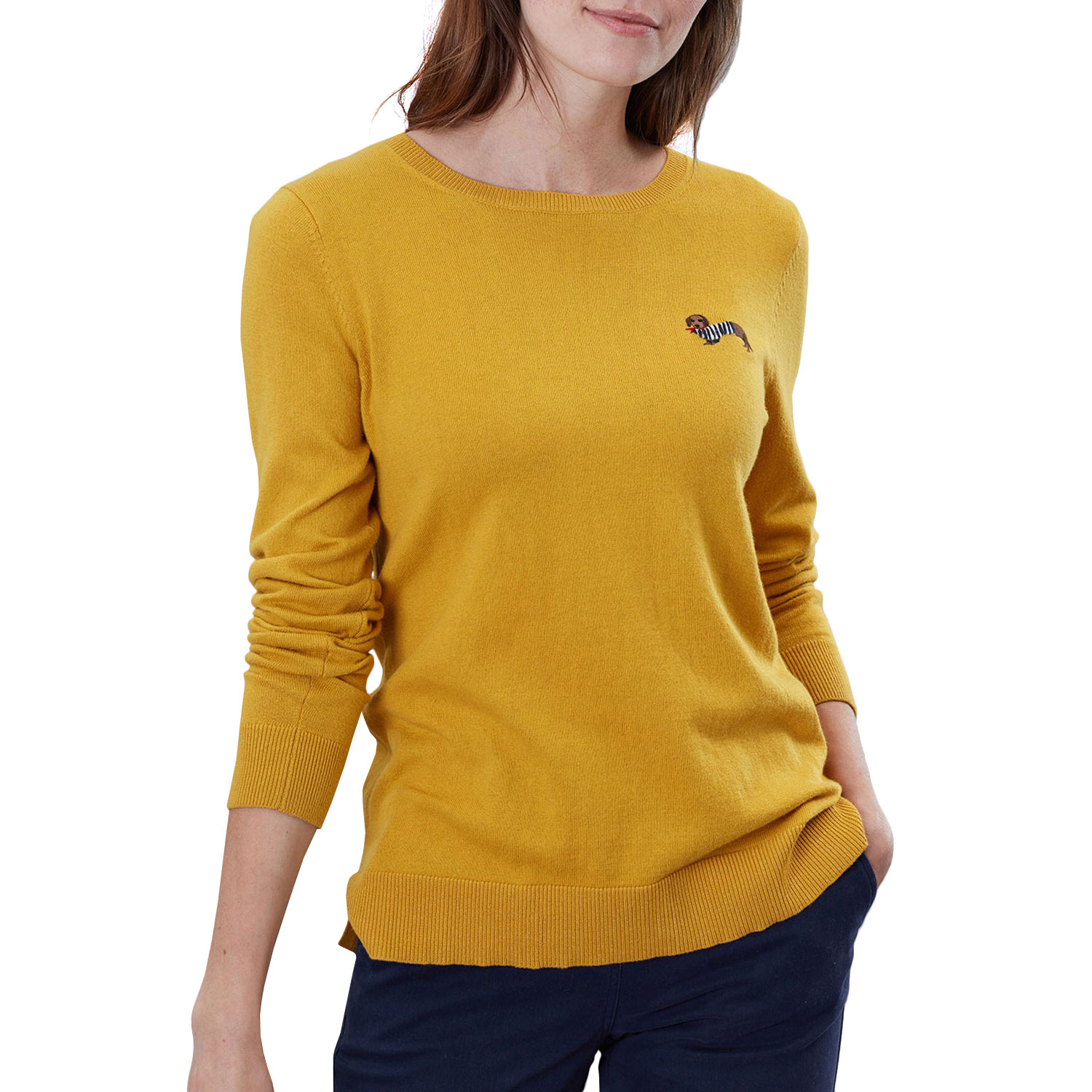 Joules Tina Crew Neck Jumper **FREE UK Shipping**