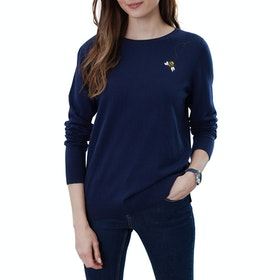 Joules Tina Women's Knits - Navy Bee