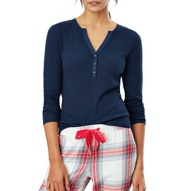Joules Cici Top Damen Nachtwäsche - French Navy