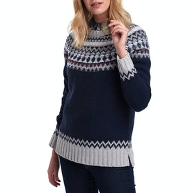 Barbour Fairlead Knit Women's Sweater - Deep Sea Marl