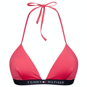 Top Bikini Donna Tommy Hilfiger Basic Triangle Fixed - Laser Pink