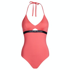 Tommy Hilfiger Cutout One Piece Women's Swimsuit - Laser Pink