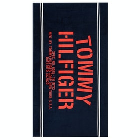 Tommy Hilfiger Towel Women's Beach Towel - Pitch Blue