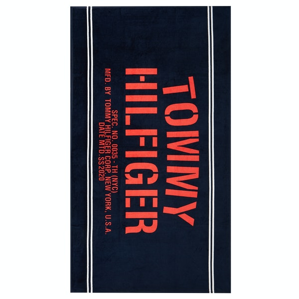 Beach Towel Donna Tommy Hilfiger Towel