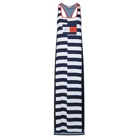 Tommy Hilfiger Tank Dress Long Women's Dress - Pitch Blue